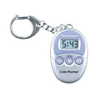 - Cole-Parmer Key-Chain Digital Timer with NIST-Cal Cert