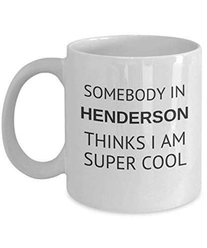 (Cool Henderson Tea Mug Traveler Friend Gift Nevada Student Cup)