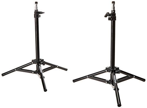 Neewer Mini Set of Two Aluminum Photography Back Light Stands with 32
