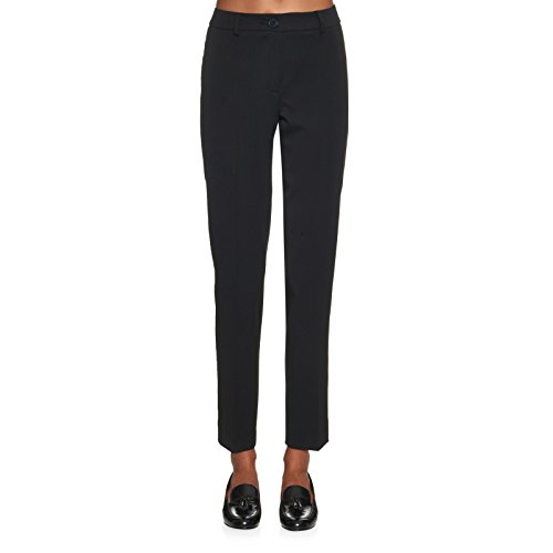 weekend-max-mara-womens-volume-slim-cropped-leg-trousers-sz-8-black