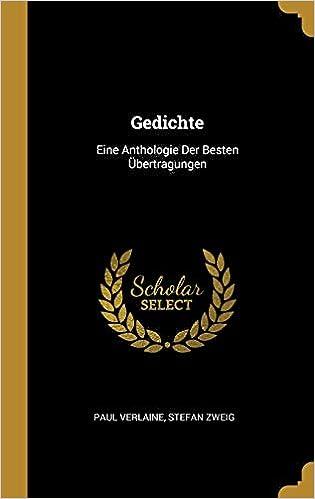 Gedichte Eine Anthologie Der Besten übertragungen German
