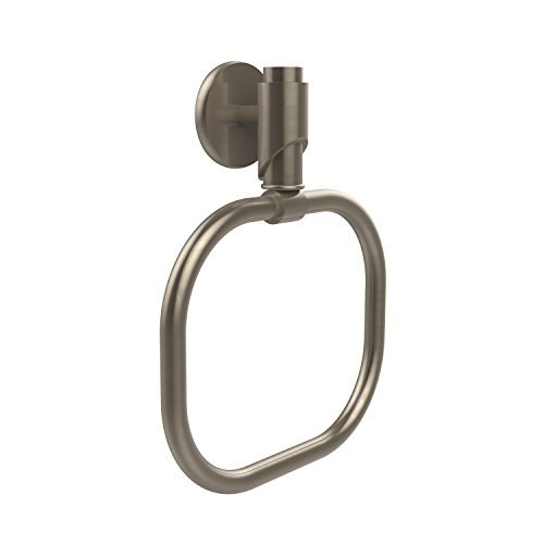 Allied Brass TR-16-PEW 6-Inch Towel Ring, Antique Pewter by Allied Brass