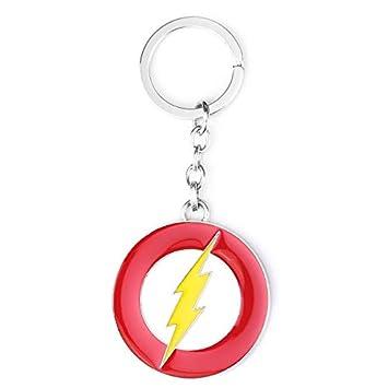 TUDUDU Marvel The Flash Joyería Llavero Aleación Metal ...