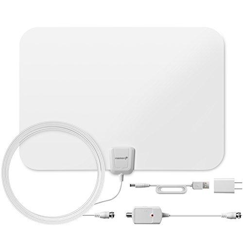 Fosmon  Ultra Thin Flat Indoor HDTV Amplified HD TV Antenna