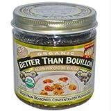 Better Than Bouillon B37553 Better Than Bouillon Organic Mushroom Base -6x8oz