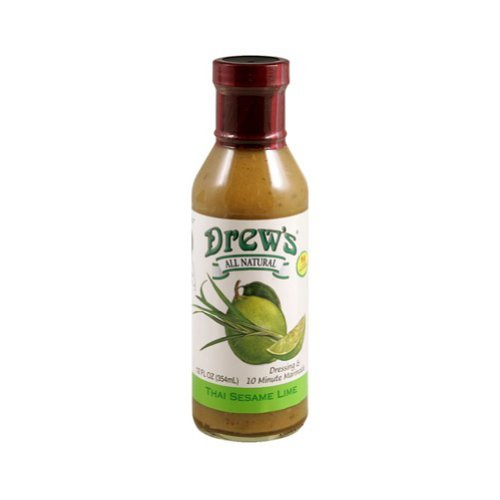 Drew's Dressing/Marinade Thai Sesame Lime, 12 Oz Pack of ()