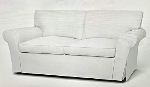 Bemz Ektorp 2 Seater Sofa Slipcover - Khaki Beige from Bemz