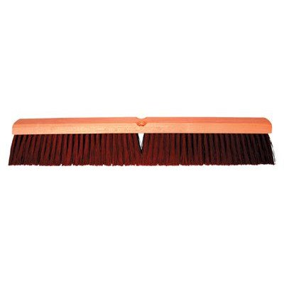 No. 22 Line Garage Brushes - 36'' garage brush w/b60 2e8b2d brown plast