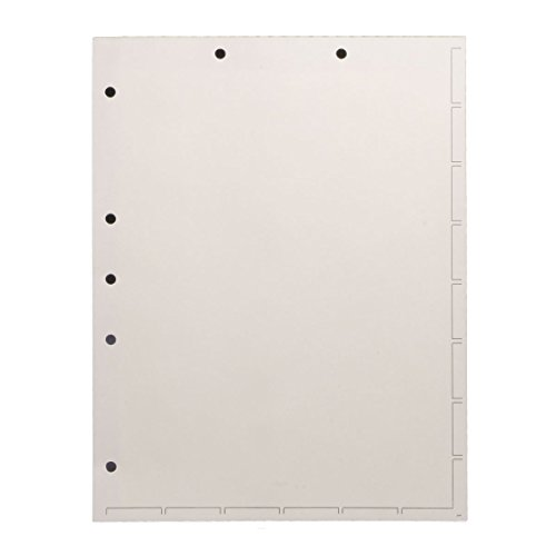 medical bottom tab chart dividers - 9