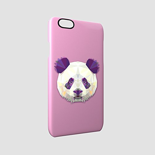 Panda Animal Art Of Triangles Glossy Hard Snap-On Protective iPhone 6 / 6S Case Cover