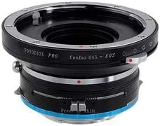 Fotodiox Pro Combo Shift Lens Adapter Kit Compatible with Contax 645 Lenses to Sony E-Mount Cameras
