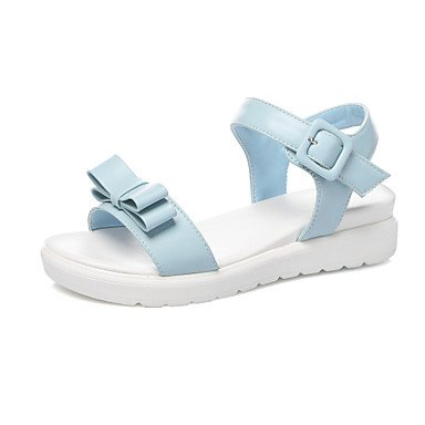 LvYuan MujerOtro-Sandalias-Exterior Vestido Informal-PU-Azul Rosa Blanco Blue