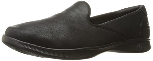 Skechers Performance Women's Go Step Lite-Determined Walking Shoe, Black, 8.5 M US -