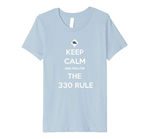 Kids The 330 Rule for RVers - RVing T-Shirt - RV Lifestyle Shirt 8 Baby Blue