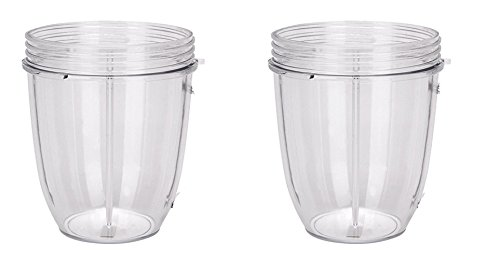 GG Pinkey 2x 18 OZ Cup for Nutri Bullet Replacement Accessories Parts Juicer Blender 600w 900w