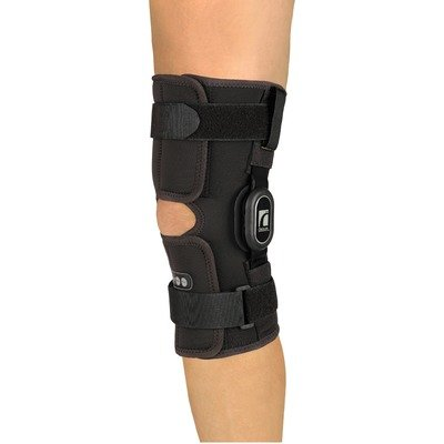 Rebound ROM Wrap Short Knee Brace Size: X-Large by Ossur