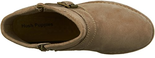 Hush Puppies Womens Aydin Catelyn Boot Taupe Suede
