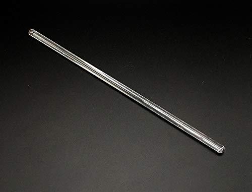 Popluxy Glass Stirring Rod Glass Stir Stick Glass Stir Rod For Scientific Chemistry Laboratory Lab Use 20cm