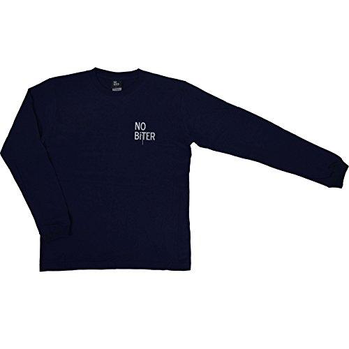 宿命指紋ウェブ(ノーバイター)NO BiTER ノーバイターロゴロングTシャツ