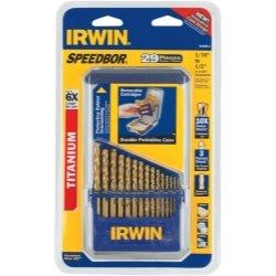 29 piezas brocas TIN Turbo Speedbor índice funda herramientas equipo herramientas de mano