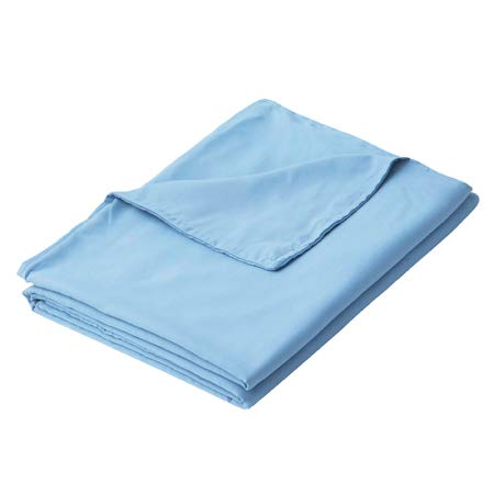 Cheap PANDAHOME Premium Polyester Microfiber Removable Professional Duvet Cover for Weighted Blanket | Blue- 36x48 Inch Black Friday & Cyber Monday 2019