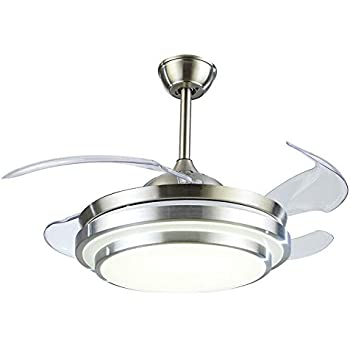 Haixiang Crystal Ceiling Invisible Remote Control Metal