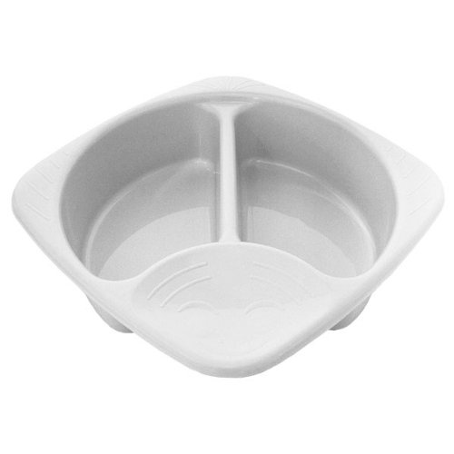 Junior Joy White Plastic Top and Tail Bowl for Baby 6191WH