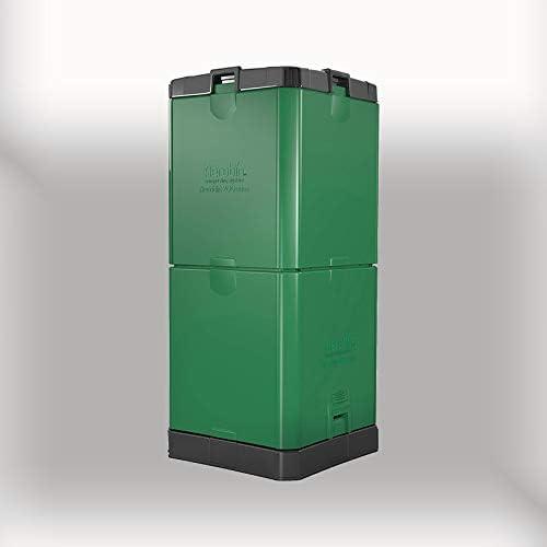Aerobin - Compostador caliente de 200 l, crea un compost orgánico rico – 3 años de garantía: Amazon.es: Jardín