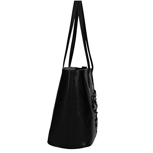 Braccialini B11340 Shopping Bag Damen Schwarz UNICA