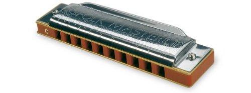 Suzuki 1072-C Folkmaster Standard 10-Hole Diatonic Harmonica, Key of C