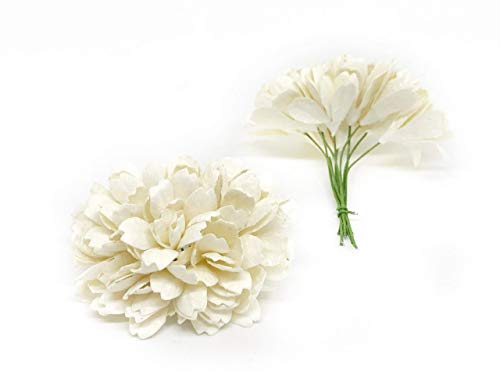 Savvi-Jewels-25cm-White-Mulberry-Paper-Flowers-with-Wire-Stems-Babys-Breath-Flowers-Mini-Artificial-Paper-Flowers-Wedding-Decor-Craft-Flowers-50-Pieces