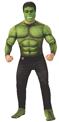 Rubie's Marvel Avengers: Endgame Deluxe Hulk Adult Costume and Mask