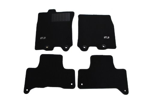 Genuine Toyota Accessories PT206-35110-20 Carpet Floor Mat for Select FJ Cruiser Models (Toyota Fj Cruiser Custom Mats)