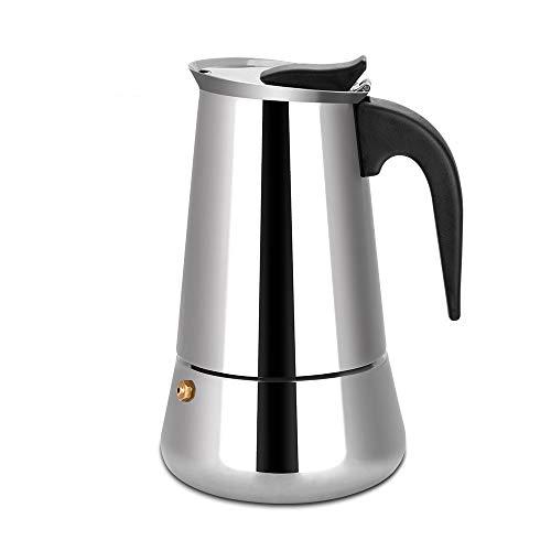 Stovetop Espresso Maker Moka Pot Coffee Percolator - 6 Demitasse ()