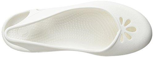 tal plana abierto Crocs White 3n Taylor nYcqc75U