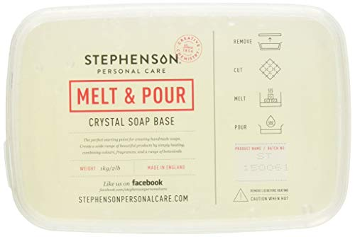 Stephenson Step Clear Melt and Pour Soap Base 2lb
