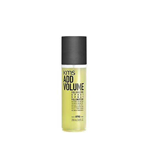 KMS ADDVOLUME Volumizing Spray Buildable, Natural Volume, Intense Fullness, Texture, Width, 6.8 oz (Add Volume Volumizing Spray)