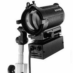 (Dedolight 150 watt focusing light head with dimmable power supply 120v)