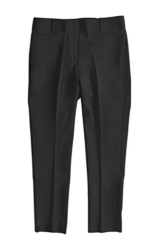 Ann Taylor Loft Womens Tall   Solid Colors   Marisa Fit Scuba Crop Pants  8 Long  Solid Black