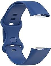 Funmix Smart Watch Band Compatibel voor Fitbit Charge 5 vervangende riem, TPU zachte vervangende horlogeband, eenvoudige stijlvolle smartwatch-accessoires compatibel voor Fitbit Charge 5 polsband