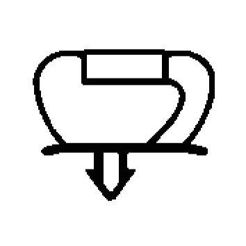 Joint magnétique à clipser composée de 3Côtés Dim. 1939x 767x 1939mm–Couleur Gris pour porte Cellule