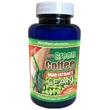 MaritzMayer Pure Green Coffee Extract, 60 Vcaps