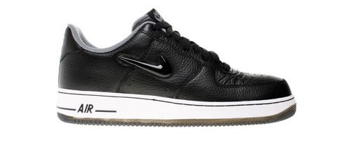 Nike Air Force 1 488298-016 Schwarz Größe Euro 40,5 / US 7,5 / UK 6,5 / 25,5 cm