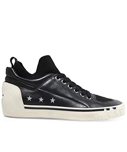 Ash Black Trainers Women's Black Leather Nippy qRY6qxwrI