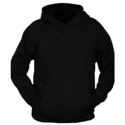 Plain black hoodies