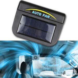 Vehicle Ventilation System Fan Sun Powered Auto  For Car