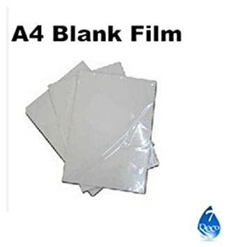 picture relating to Printable Water Transfer Film known as 5computers/good deal Blank H2o Shift Printing Motion picture for Inkjet