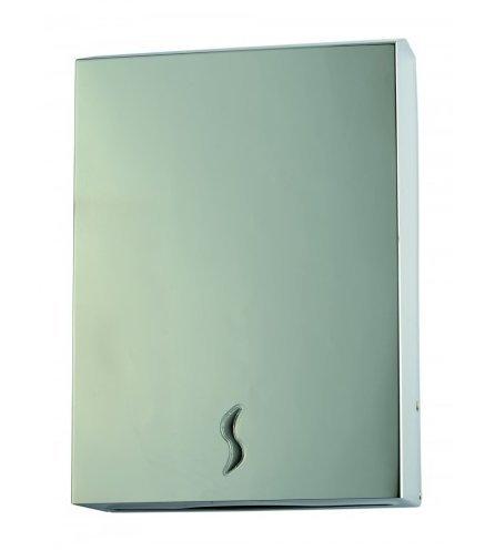 Dispenser Carta Asciugamani In Acciaio Inox 400 Medial Brinox