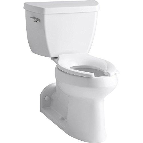 Kohler K-3578-0 Barrington Pressure Lite, Comfort Height Toilet, (Green Two Piece Elongated Toilet)