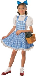 Dorothy Deluxe Kids Costume, Large -